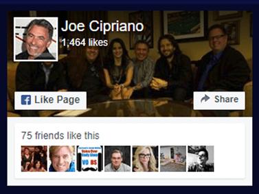 Joe Cipriano Facebook
