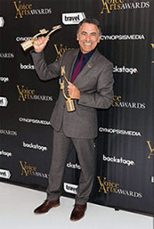 Joe Cipriano wins two Voice Arts Awards