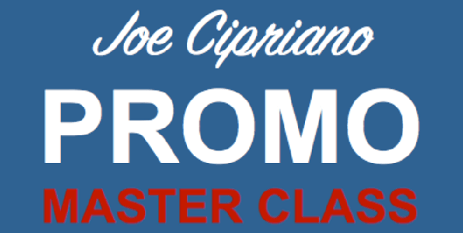 Master Class Promo Voice Overs with Joe Cipriano